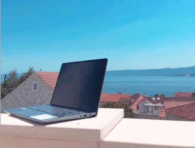 This is Dalmatia, your new office!