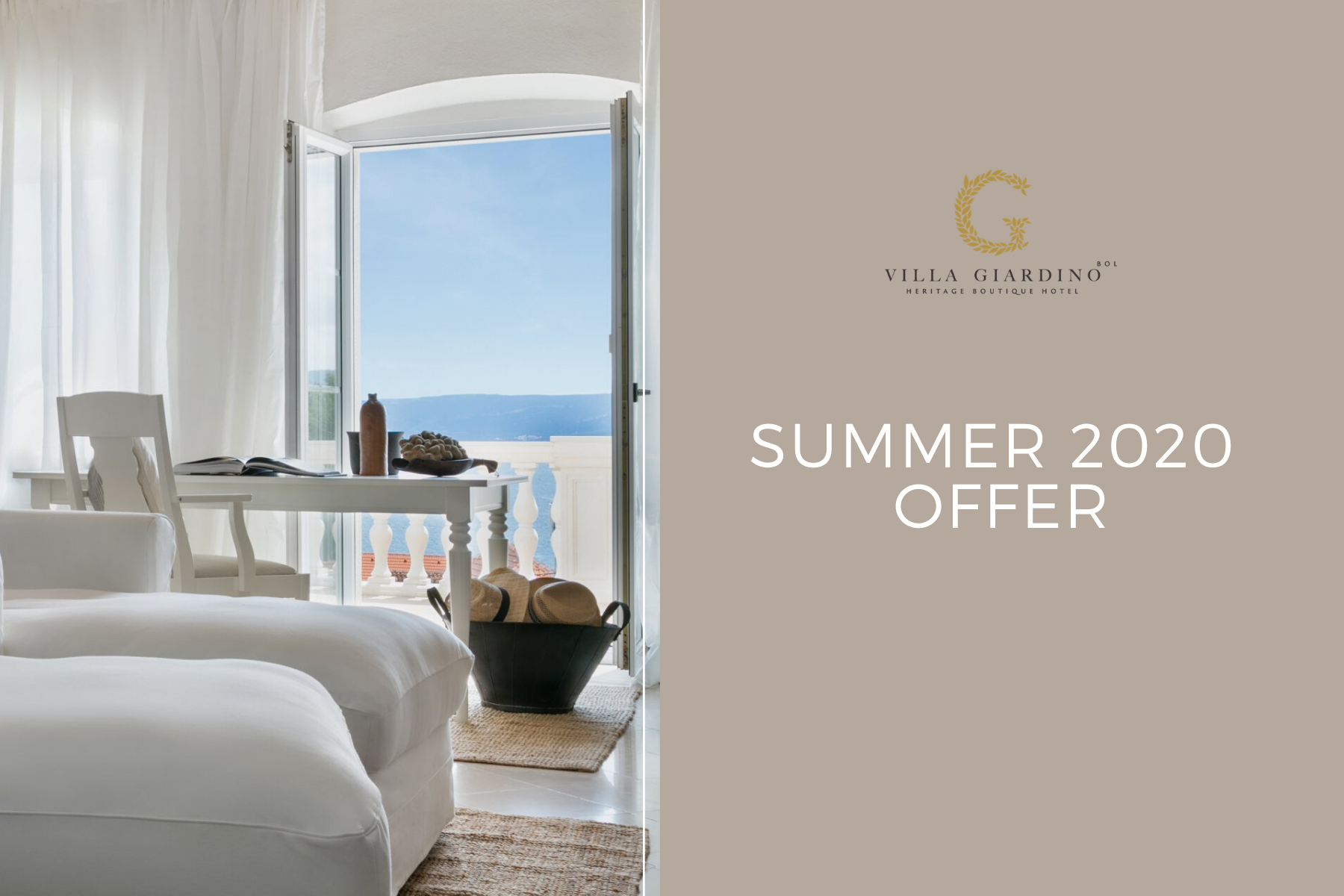 Special Summer Offer by Villa Giardino Heritage Boutique Hotel